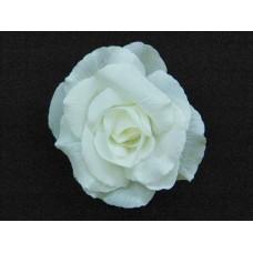 Бутоньерка Цветок белый 10,5см №34.75