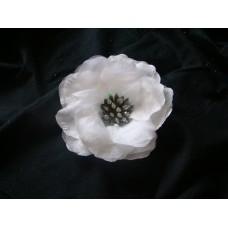 Значок Цветок Белый ПАРА 15,5см №38.225