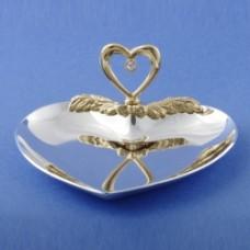 Блюдце для колец в виде сердца Сердце №56.420