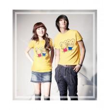 Комплект футболок желтых №1.690