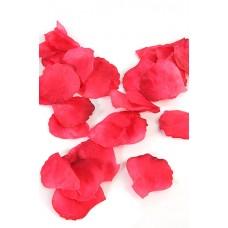 Лепестки роз  цвет красные (110шт) тканевые №7.57