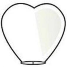 """Небесный Фонарик """"Сердце"""" White d=38  2D №26.150"""
