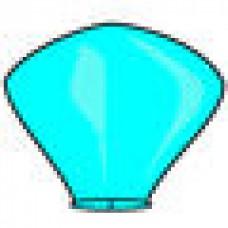 """Небесный Фонарик голубой d=38 """"Пирамида малая"""" №39.100"""