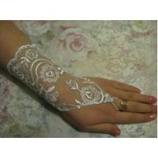 Перчатки белые  (20см) 2 №85.270