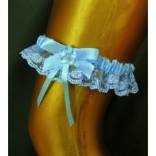 Подвязка голубая SvetikFantasy XL №89.285
