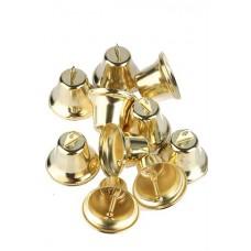 Колокольчик золотой (d-1.7см) Цена: за 1 штуку №100.6
