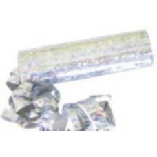 Серпантин голографический серебро 2штуки №9.77