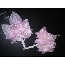 Значок Цветок розовый SvetikFantasy №33.97