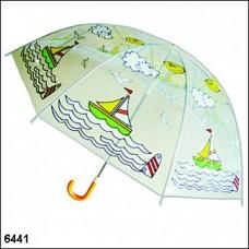 """Зонт детский: для маленьких Принцев """"Кораблики"""" №3.225 (55274)"""