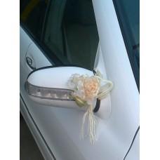 Букетик на ручку автомобиля, на зеркала, дворники 18х14см №54.72