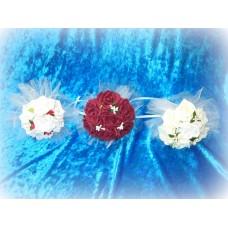 Букет невесты  (латекс) Цвета: Белый, Бордо, Айвори