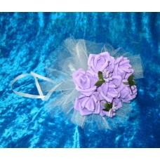 Букет невесты  (латекс) Цвета: Сиреневый  №1782.351