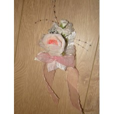 Цветочек Розовый 15х9см №454.87