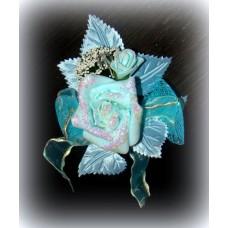 Цветочек Голубой 12,5х10см №600.42