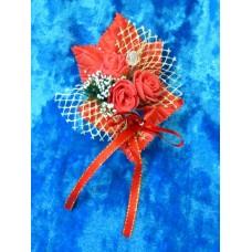 Цветочек Красный 10,5х8,0см №900.35