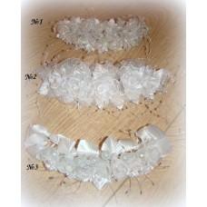 Веночек белый в ассортименте 23х7см  №463.99