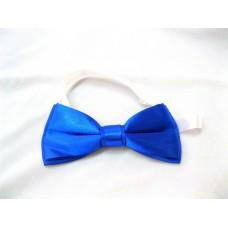 Галстук бабочка классика синий  5,5х12,5см №2018.40