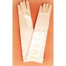 Перчатки  молоко  34см №627.170
