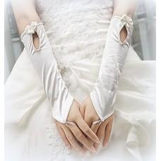 Перчатки белые 30см №638.170