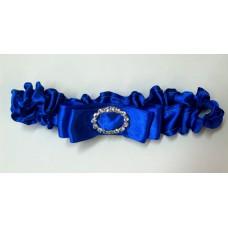 Подвязка синяя  SvetikFantasy (отделка может отличаться) №725.165