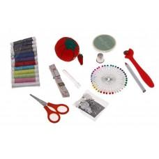 Набор для шитья в пластиковой сумочке цвета в ассортименте №1633.85