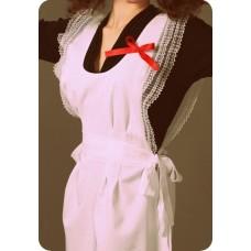 Фартук СССР для девочки белый размер44 рост 170 №152.750