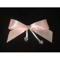 Лента на булавке для Подруг  SvetikFantasy 11х6 см Цвет:розовый №446.35