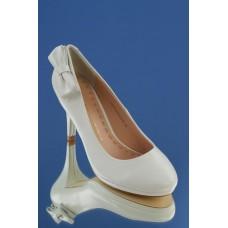 Туфли,  натуральная кожа цвет: белый №1498.1800