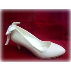 Туфли, кожа искусственная цвет: белый №1504.975