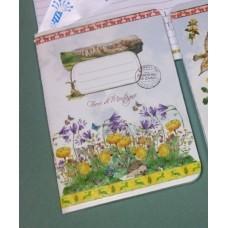 Блокнот Цветы гор А6
