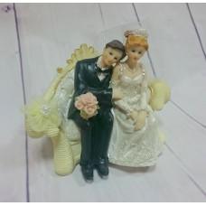 Свадебная пара фигурка на торт