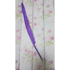 Ручка шариковая Перо фиолетовая
