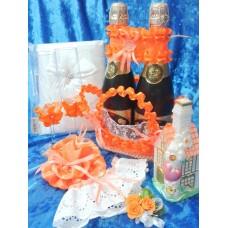 Свадьба оранжевая цвете Вариант№1 №5083