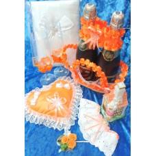 Свадьба оранжевая цвете Вариант№2 №5084