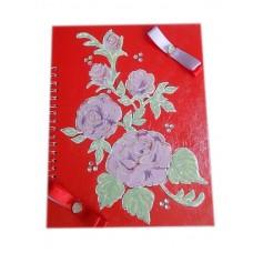 Альбом для пожеланий SvetikFantasy; А5, цвет: красный №5089.550