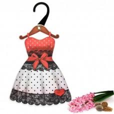 "Арома-саше фигурное на вешалке ""Платье 3"" аромат геоцинта и мускатного ореха №5094.90"