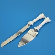 """Набор для торта """"Принцесса"""" из ножа и лопатки №5150.803"""