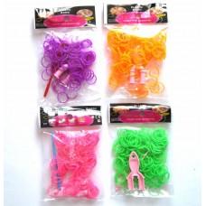 Набор для плетения браслетов из силиконовых резинок Loom Bands №5198.60