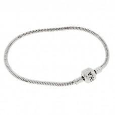 Основа-браслет, цвет металл, 20 см №5200.110