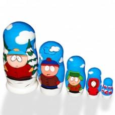 """Матрёшка """"South Park"""" 5 в 1, 25см №4877.520"""