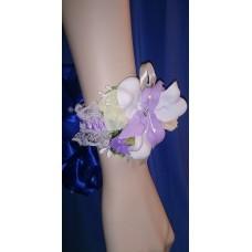 Браслет-Цветочки Красотка SvetikFantasy, цвет: сиреневый, цветочки в ассортименте №4746.200