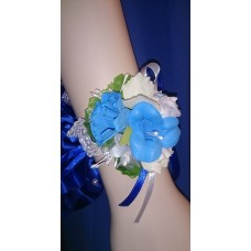 Браслет-Цветочки Красотка SvetikFantasy, цвет: синий, цветочки в ассортименте №4747.200