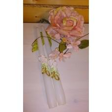 Набор свечей Кантри ,2штуки, 2,3х25 см, время горения 8 ч №4450.116