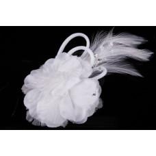 Гребешок в волосы  Цвет: белый  №4465.125