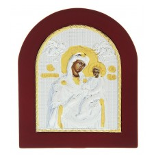 "Икона ""Пресвятая Богородица"" на дереве, на подставке, 1,0 х 11 х 13 см №4513.300"