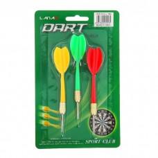 Стрелы (дротики) для дартса, 3 штуки  №4527.50