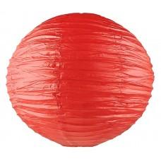Фонарь подвесной,  цвет красный d-40см №4285.62