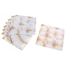 """Салфетки бумажные """"Лори Триумф"""" золотистые, двухслойные 33х33 см №4316.31"""