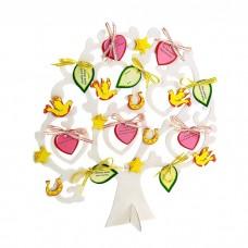 """Дерево пожеланий """"Любимым"""", размер: 2,1 × 26,2 × 34,8 см №4333.241"""