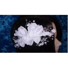 Гребешок в волосы  Цвет: белый  №4378.450